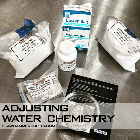 Adjusting Brewing Water Chemistry