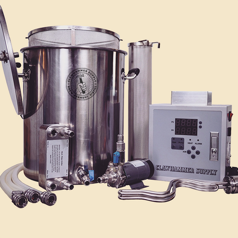 10 Gallon Electric Home Brewing System - 240v - BIAB