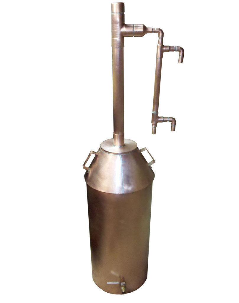 Copper Moonshine Still - 10 Gallon - Completely Assembled