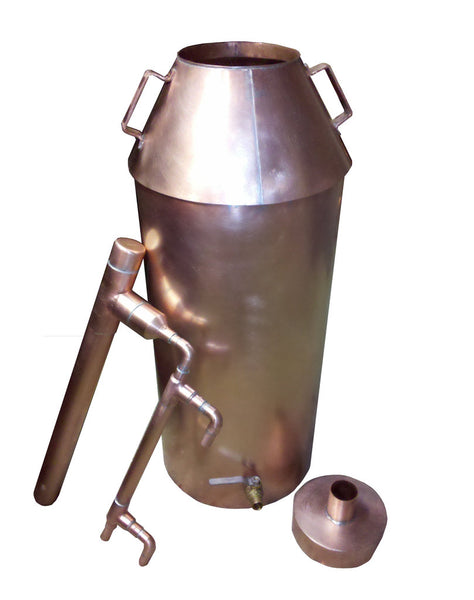 Copper Moonshine Still 10 Gallon Completely Assembled