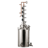10.5 Gallon Stainless / Copper Bubble Plate Distiller - Limited Supply