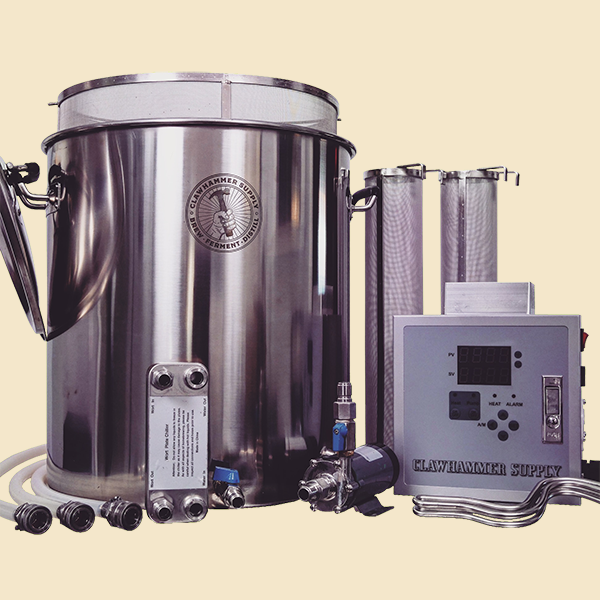 20 Gallon Electric Home Brewing System - 240v - BIAB