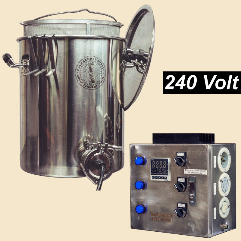 Electric Home Brewing System - 240v - BIAB Scratch & Dent