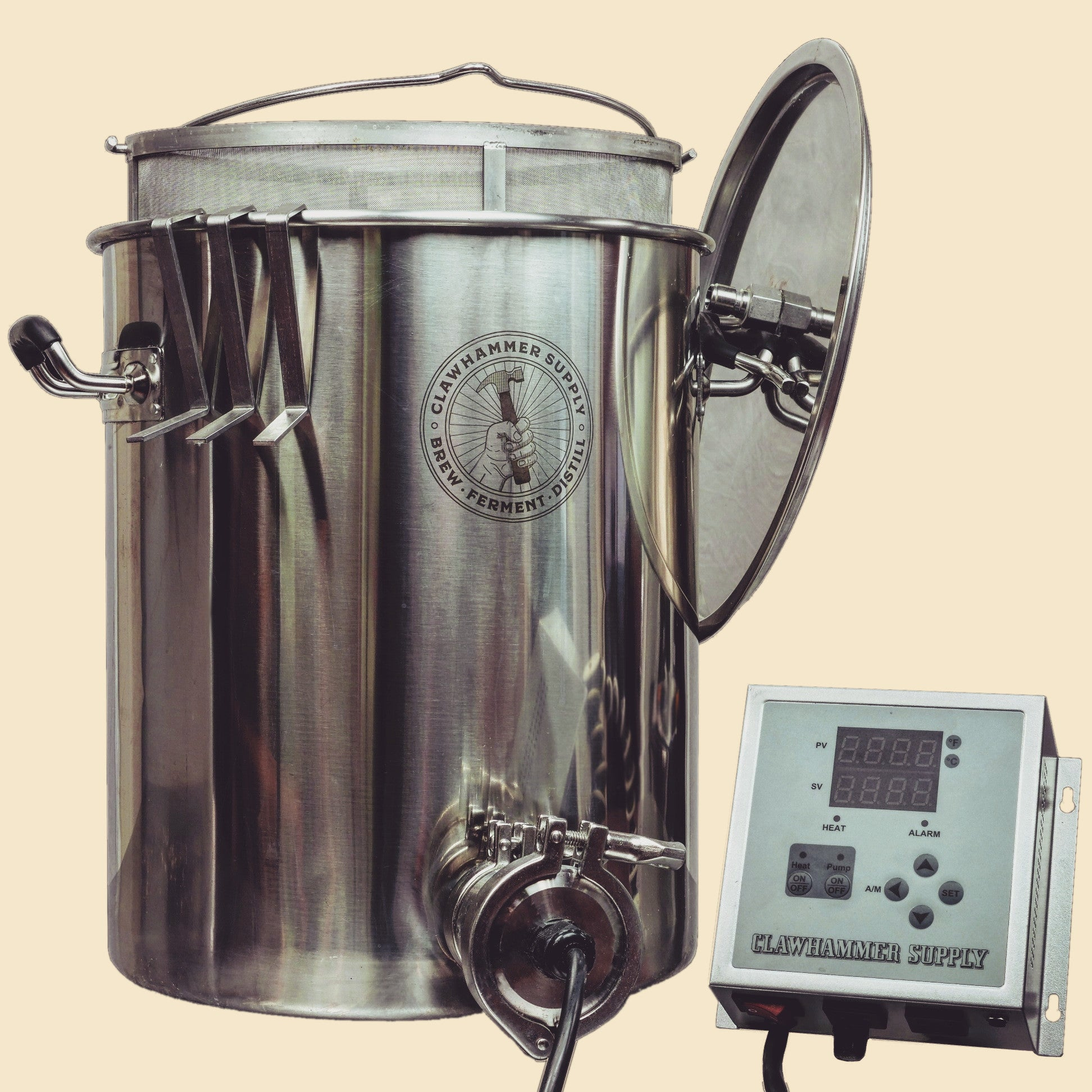 Electric Home Brewing System - 120v - BIAB Scratch & Dent