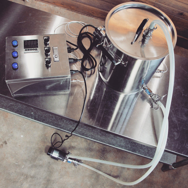 Digital Electric Brewing System Copper Moonshine Still