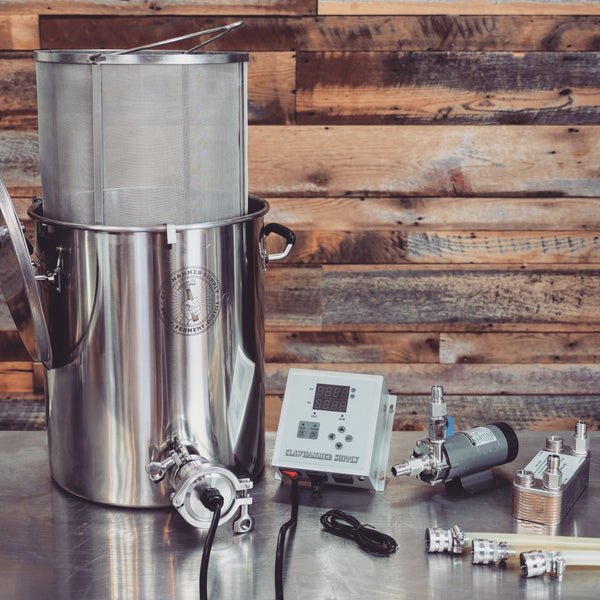 Electric Home Brewing System 120v Biab Clawhammer Supply