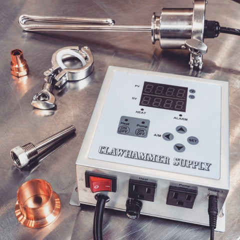 120V Controller and Element Kit Copper Distillers