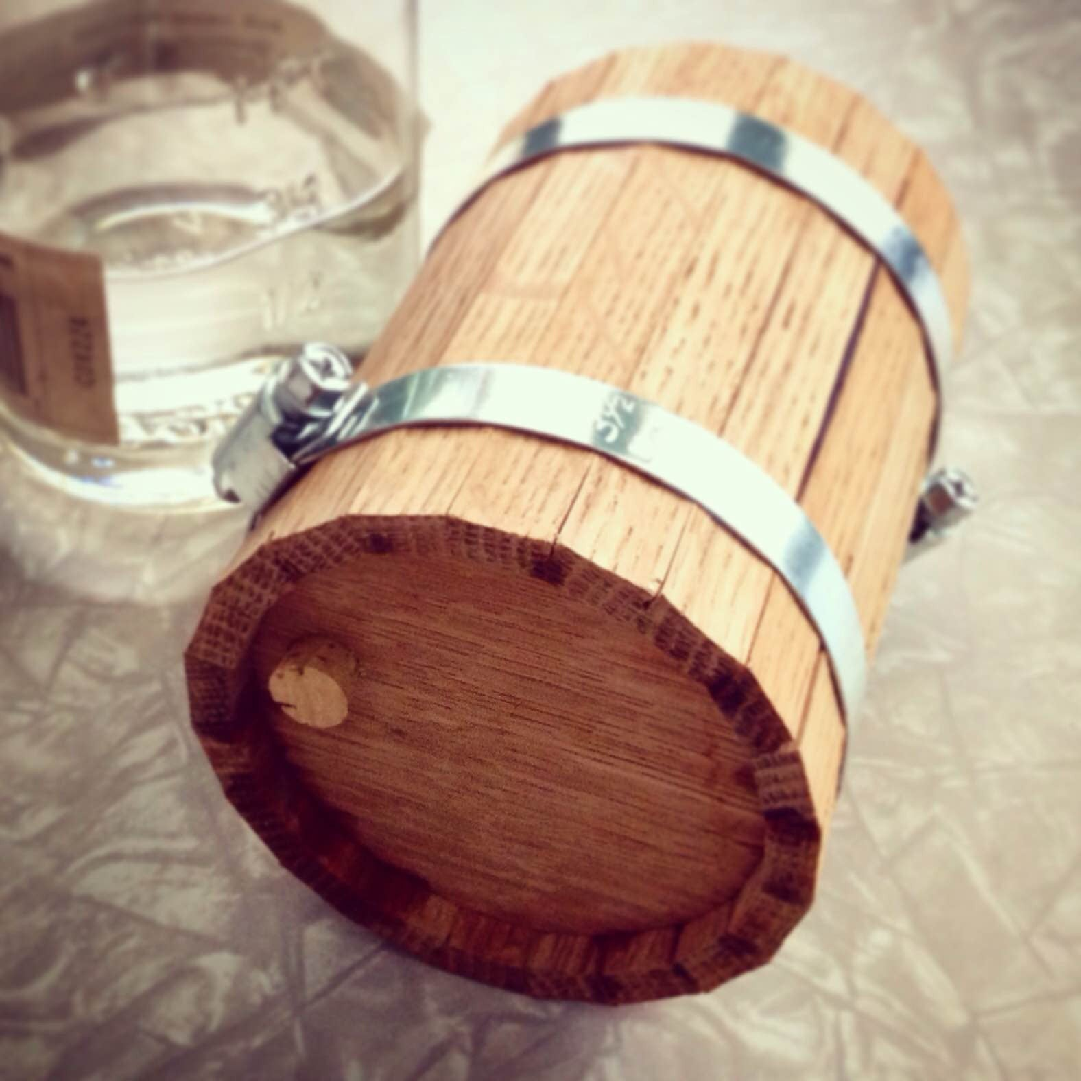 Mighty Pint - Mini Whiskey Barrel Kit