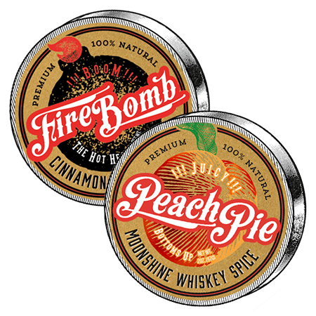 Peach Pie Moonshine & FireBomb Combo