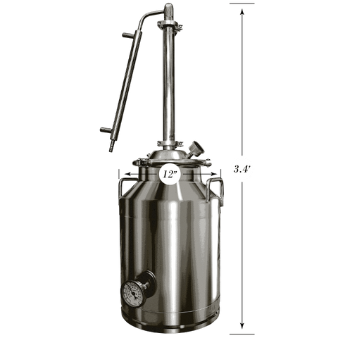8 Gallon Stainless Steel Still