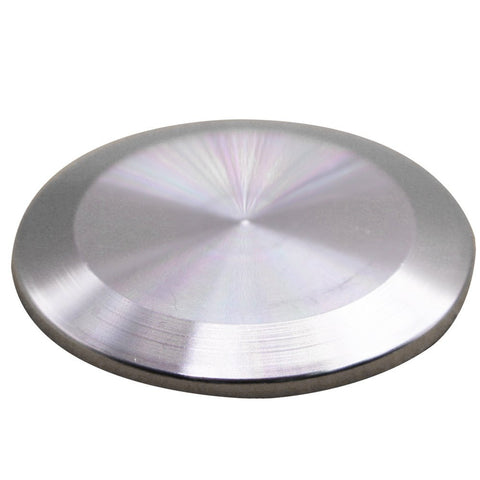 "1.5"" Stainless Steel Tri-Clover Blank Cap"