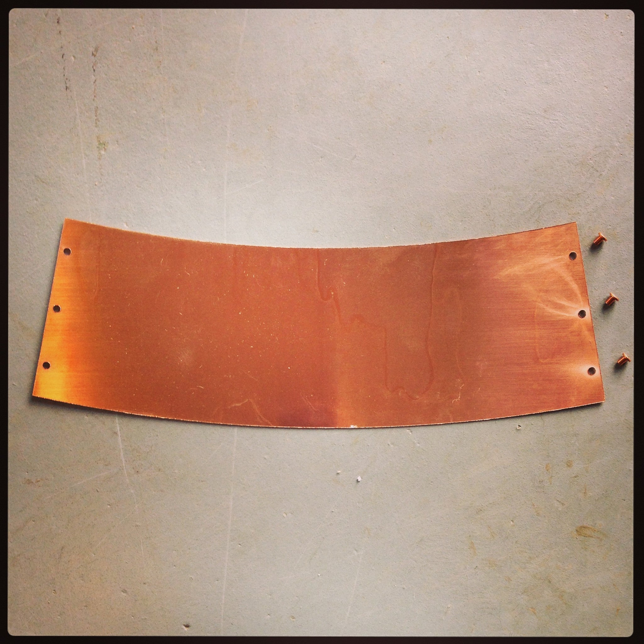 Cap Plate, Cap Skirt, Collar and Rivets - 10 Gallon