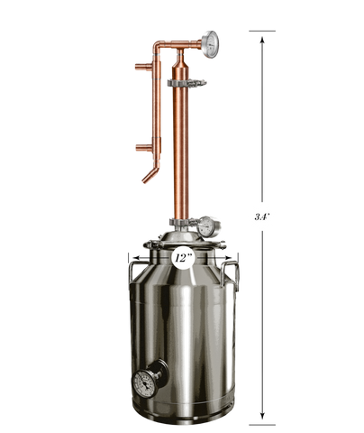 8 Gallon Stainless / Copper Still