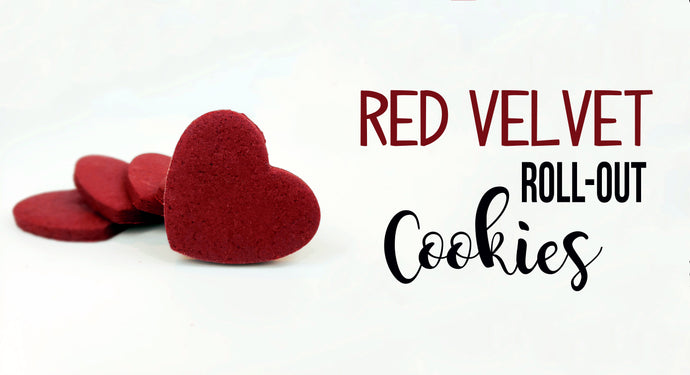 Red Velvet Roll-Out Cookies