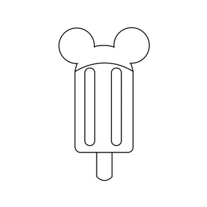 Boy Mouse Popsicle