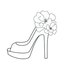 Load image into Gallery viewer, Floral Stiletto