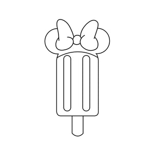 Girl Mouse Popsicle