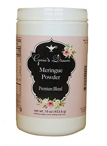 Copy of Genie's Meringue Powder - 16 oz Tub