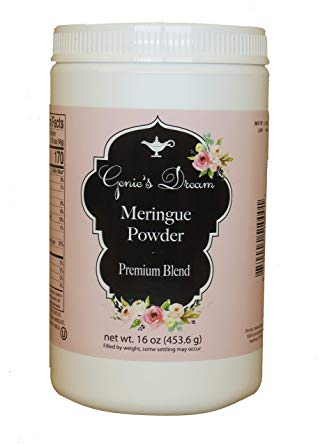 Genie's Meringue Powder - 16 oz Tub