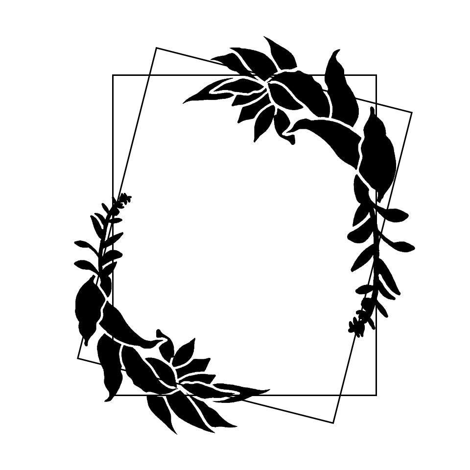 Leafy Laurel Plaque