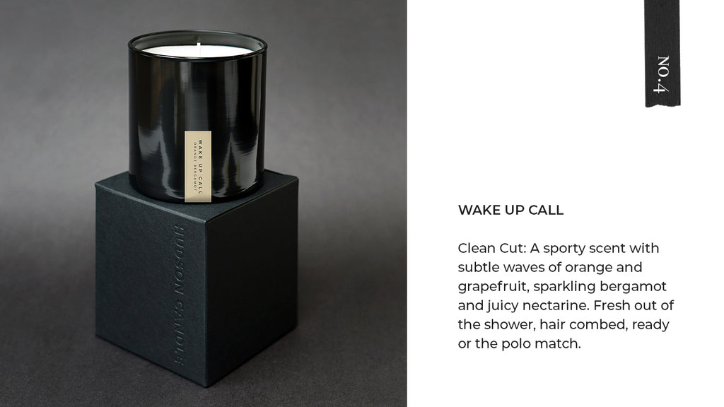 Hudson Candle Wake Up Call Polo Sport Candle Fathers Day Gift