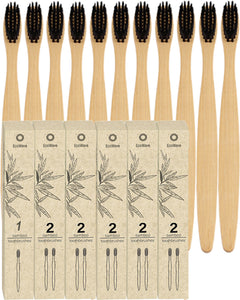 EcoWave Bamboo Tootbrushes - Pack of 11