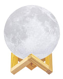 Humidifier 3D Printed Dimmable Moon Lamp With Cool Mist Humidifier