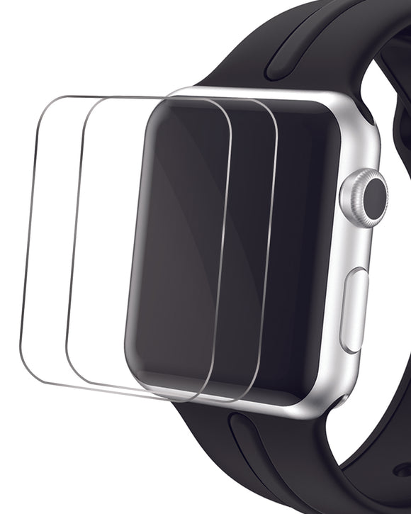 Gretmol Tempered Glass Screen Protector for Apple iWatch - 38 mm