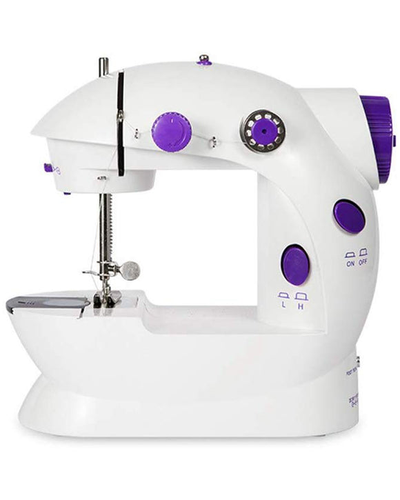 Mini Sewing Machine with Adjustable 2-Speed, Double Thread & Foot Pedal