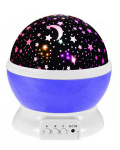 Star Night Light Galaxy Projector LED Lights, 360 Degree Rotation - Purple