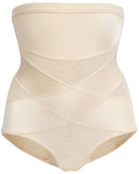 Gretmol Shapewear High Waist Body Shaper & Tummy Control Panty Nude - M