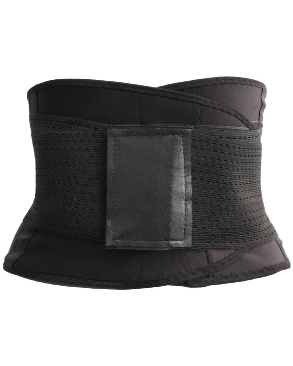 Gretmol Shapewear Waist Trainer Body Shaping Sport Belt Black - L