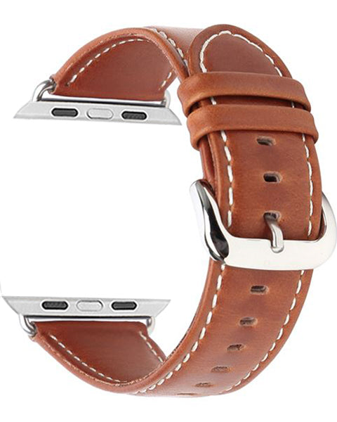 Gretmol Apple Watch Replacement Strap - Tan (42 mm)