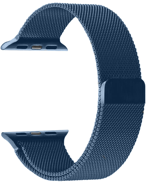 Gretmol Blue Apple Watch Milanese Replacement Strap - 42 mm