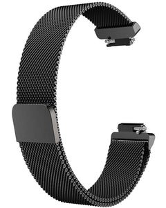 Gretmol Black Mesh Strap For Fitbit Inspire And Inspire HR Tracker- Small