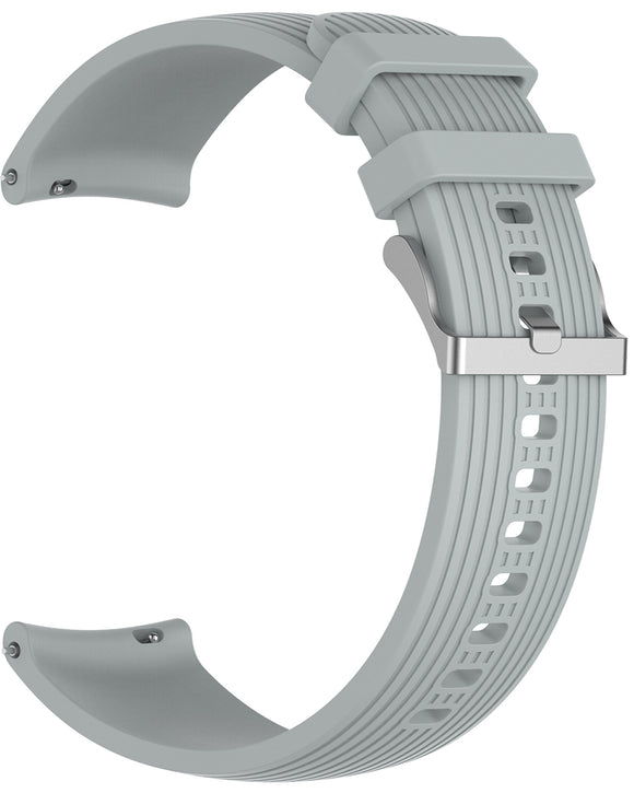 Gretmol Grey Sports Silicone Samsung Galaxy Watch Replacement Strap - 46 mm