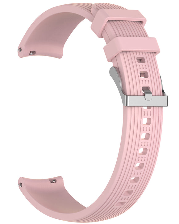 Gretmol Pink Sports Silicone Samsung Galaxy Watch Replacement Strap - 46 mm
