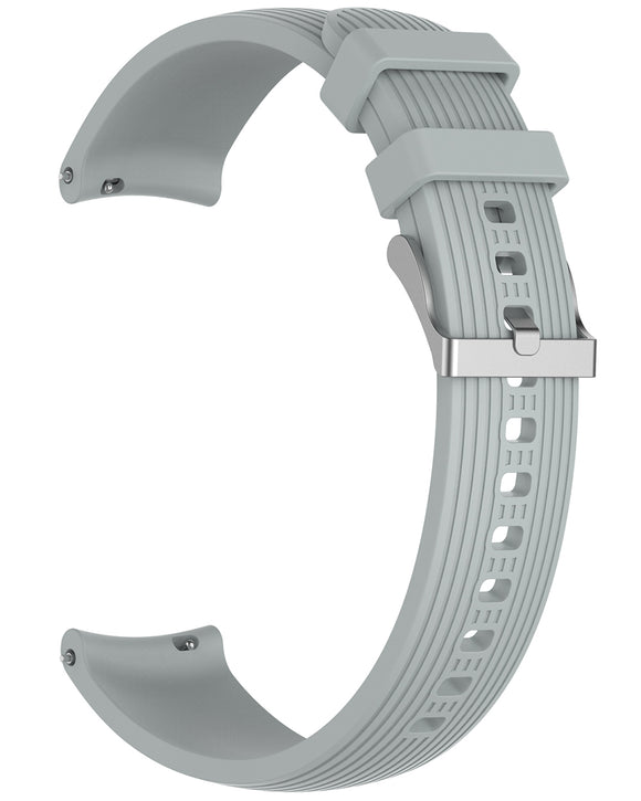 Gretmol Grey Sports Silicone Samsung Galaxy Watch Replacement Strap - 42 mm