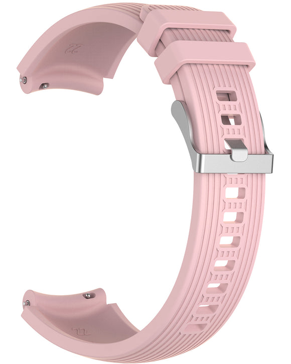 Gretmol Khaki Sports Silicone Samsung Galaxy Watch Replacement Strap - 42 mm