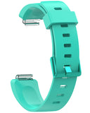 Gretmol Mint Green Silicone Strap For Fitbit Inspire And Inspire HR Tracker
