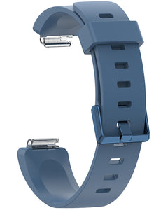 Gretmol Rock Blue Silicone Strap For Fitbit Inspire And Inspire HR Tracker