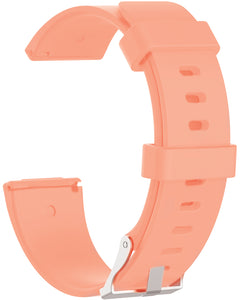 Gretmol Peach Pink Fitbit Versa Sport Silicone Replacement Strap