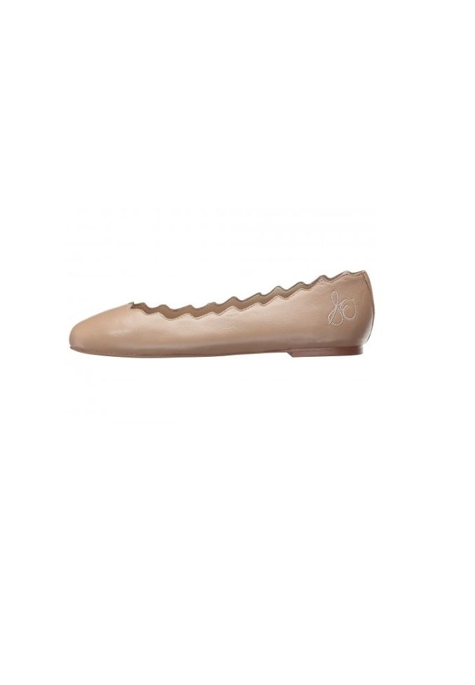 Sam Edelman Women's Francis Classic, Nude Leather, US 12