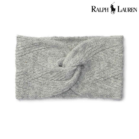 Ralph Lauren Aran-Knit Twisted Headband