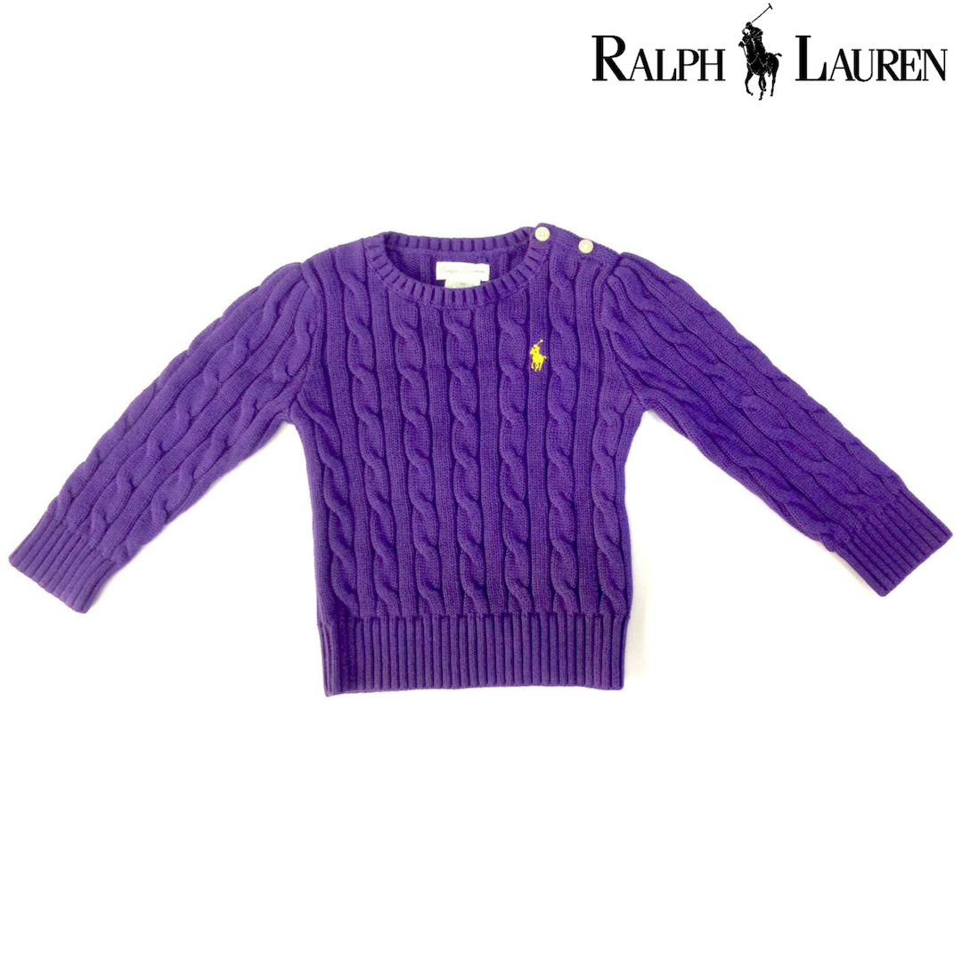 Ralph Lauren Childrenswear Cable-Knit Cotton Sweaters