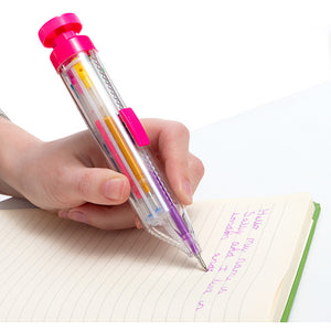 Destemart Rainbow Multicoloured Glitter Pen
