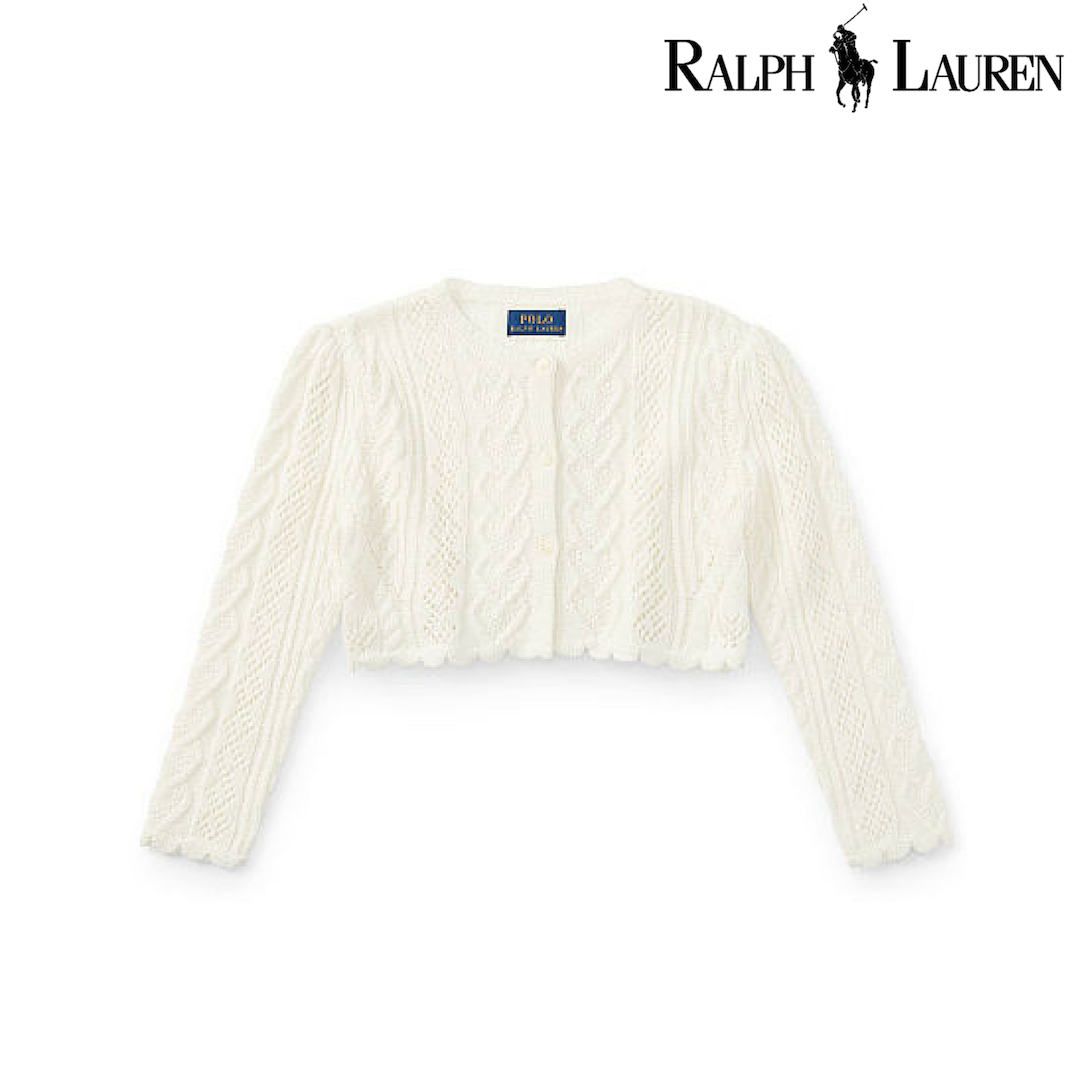Ralph Lauren Scallop-Trimmed Card