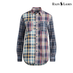 Ralph Lauren Relaxed Cotton Madras, S
