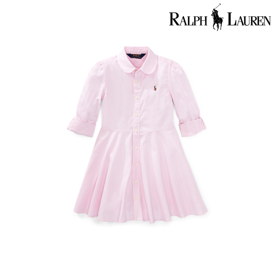 Ralph Lauren Cotton Oxford Shirtdress