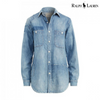 Ralph Lauren Patchwork Denim Shirt, Small